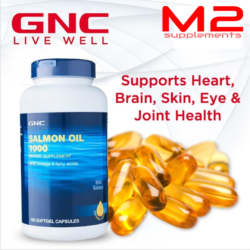 gnc salmon oil